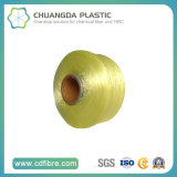 Filé de 600d teint par textile 100% FDY pp avec le filé élastique élevé