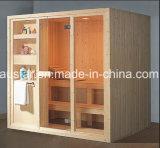 sauna da madeira contínua do retângulo de 1900mm para 4 pessoas (AT-8608)