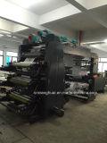 나선형 기어를 가진 기계를 인쇄하는 Mulitcolor Flexography