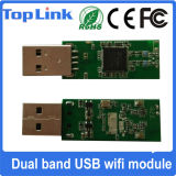Top-4b Ralink Rt5572 Adaptador WiFi inalámbrico USB 802.11A / B / G / N 300Mbps