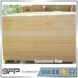 Abgezogene gelbe Sandstein-Oberflächenplatten für Verkauf