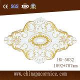 Nuevo diseño de talla de la PU de techo medallón Alivio para el Hotel Baño Decoración
