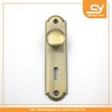 열쇠구멍 Zamak 고대 청동색 기계설비를 가진 문 손잡이 손잡이