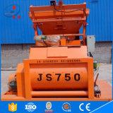 2016 mezclador concreto doble de calidad superior de los ejes Js750