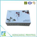 Оптовые лоснистые белые коробки подарка офсетной печати магнитные