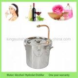 De Kingsunshine 10L/3gal d'acier inoxydable de chaudière de tube de cuivre d'alcool illégal distillateur de l'eau de double distillation encore