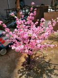 Mini decorativo flor del árbol de melocotón