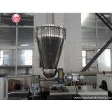 Máquina gemela del estirador de la granulación del tornillo del PVC
