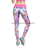 Leggings de gymnastique pour femmes, vêtements de sport Fashion Tight Compression Girls Leggings