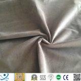 Tessuto molle eccellente viola normale del sofà del velluto per la tappezzeria della mobilia