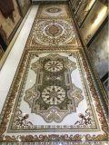 Alfombra de cerámica decorativa luminosa del azulejo de suelo con el polvo fluorescente