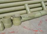 Coude d'adhérence de fibre de verre des garnitures de pipe de FRP