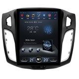 Andriod System in Dash Vertical Huge Screen Car GPS para Ford Focus 2013 com rádio Bt