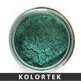 鉱物はカラー化粧品のための顔料の粉を基づかせていた