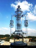22 Zoll-Glaswasser-Rohr mit den doppelten Recyclern abgetrennt mit Sein-Baum Perc