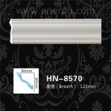 Tête ordinaire moulant la corniche Hn-8570 de polyuréthane de plafond d'unité centrale