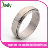 Aço inoxidável do anel dos homens do anel de casamento dos homens da forma