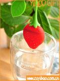 Silicone 100% del commestibile di Infuser del tè della fragola