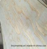 Grado de los muebles de la madera contrachapada 5.2m m del pino