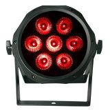 7X10W 4in1 RGBW LED NENNWERT im Freienstadiums-Wand-Unterlegscheibe-Beleuchtung