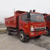 中国Sinotruk 4X2 10tonの軽いダンプトラックのダンプカートラック