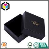 Rectángulo de regalo rígido con bisagras lujo del papel de la cartulina de la tapa