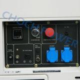 Тепловозные портативные генераторы одиночной фазы 5kVA звукоизоляционные с сертификатом Ce