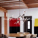 Modernes kreatives Metal&Glass hängendes Zweig-Baum-Anhänger-Licht der Kunst-Hotel-Dekoration-LED