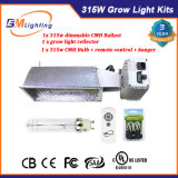 Hydroponics Indoor Growing 315W CMH Ballast Grow Light Reflector Kits