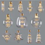 Dos bebês Cinco-Pointed do diodo emissor de luz da estrela das AMPOLAS do diodo emissor de luz de MTX ampolas decorativas do projeto creativo original da ampola de Thomas Edison da respiração