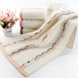 Покрашенное Bamboo полотенце стороны волокна с высоким качеством