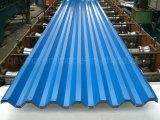 가벼운 강철 구조물을%s 지붕 장으로 색깔 강철의 각종 모양 강철판 물결 모양 장