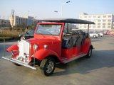 Archaize il disegno elettrico dell'automobile dell'annata per fare un giro turistico