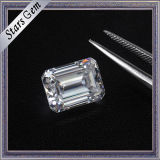 Hot Sale Clear White 1 Carat Esmeralda Corte Diamante Moissanite