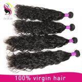 Prolonge brésilienne de cheveux humains de Vierge d'onde normale de prix usine