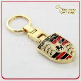 Porte-clés en métal de forme du football de mode avec l'ouvreur de bouteille