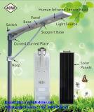Tudo em uma lâmpada de rua 40W solar com iluminação do diodo emissor de luz
