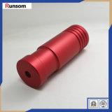 Красный цвет высокой точности анодирует поворачивая алюминиевую часть для воздушноого-космическ пространства