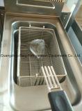 Fritadeira de fritas de aço inoxidável para restaurante ou Kfc Fast Food Shop