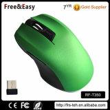 Kundenspezifische drahtlose Maus der Farben-6 der Tasten-2.4G für PC