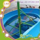 Rainbow Open Spiral Slide Water Park para o parque infantil ao ar livre da família