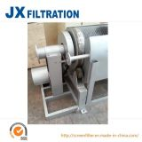 Filtro de tambor rotatorio de la pantalla del tratamiento de aguas residuales de agua