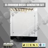type insonorisé générateur diesel réglé se produisant diesel électrique de 140kVA 50Hz