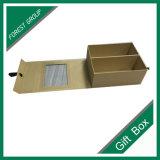 PVC Windows를 가진 도매 주문 호화스러운 서류상 선물 상자
