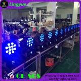이동하는 헤드 LED 단계 빛 힘 광속 12X10W 쿼드 색깔