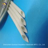 Chemise tissée par fibres de verre résistants au feu VW-1 de silicones de Sunbow 4.0 kilovolt 12mm