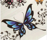 Etiquetas engomadas temporales impermeables del tatuaje de la mariposa colorida de moda
