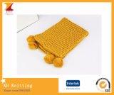 2016 neue Art-Kind-weicher Schal mit nettem Quast