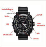 Impermeável 1920 * 1080P PC Webcam Night Vision Built-in 4GB / 8GB / 16GB Mini Video Recorder Wrist Watch Camera Cam A1