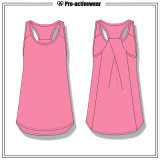 Usura all'ingrosso di ginnastica di donne della parte superiore di serbatoio dei vestiti di ginnastica del contrassegno privato